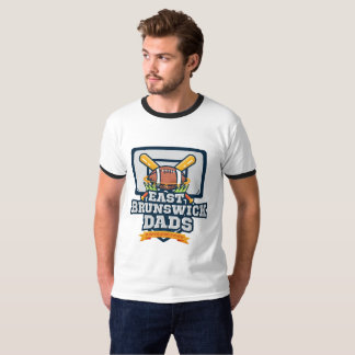 EB Dads - T-Shirt w/ colored collar