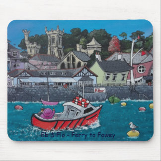 Eb & Flo - Ferry to Fowey Mouse Pad