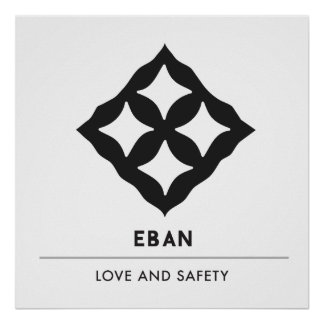 Eban | Adinkra Symbol of Love, Safety, Protection Poster