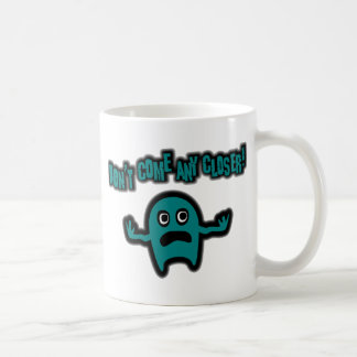 Ebbi, The Cute Little Monster - Teal Coffee Mug