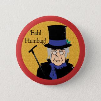 Ebenezer Scrooge 2 Inch Round Button