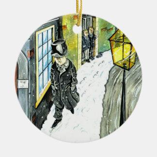Ebenezer Scrooge Ceramic Ornament