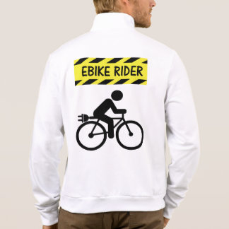 """""""Ebike rider"""" cycling jackets for him"""