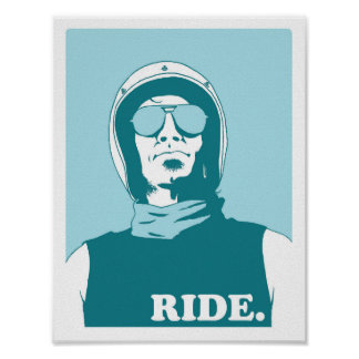 EBLA  - Ride Poster