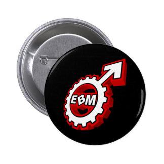 EBM Logo_10 Pinback Buttons