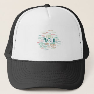 EBOLA TRUCKER HAT