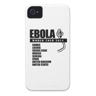 EBOLA WORLD TOUR 2014 Case-Mate iPhone 4 CASES