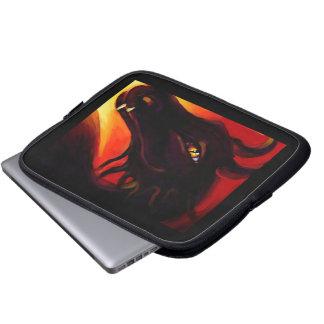 Ebony Fire Dragon Laptop Sleeve