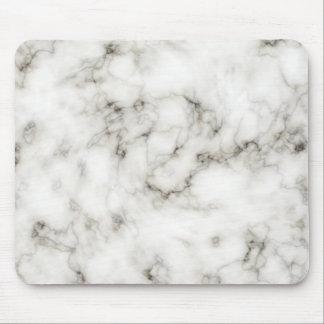 Ebony Ivory marble Mouse Pad