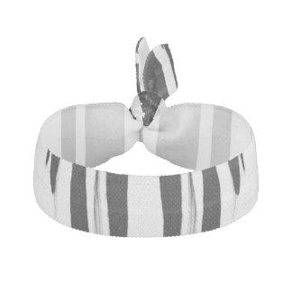 EBONY & IVORY (zebra stripe abstract art) ~ Hair Tie