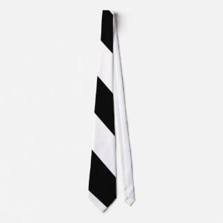Ebory Diagonal-Striped Tie