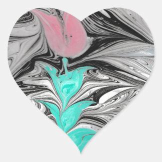 Ebru Heart Sticker