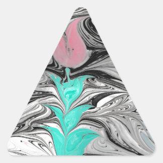 Ebru Triangle Sticker
