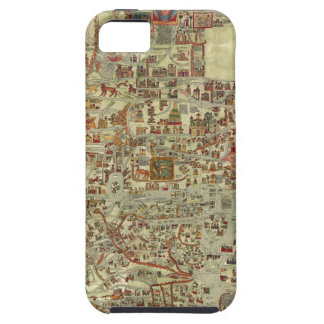 Ebstorfer Old World Map Cover For iPhone 5/5S