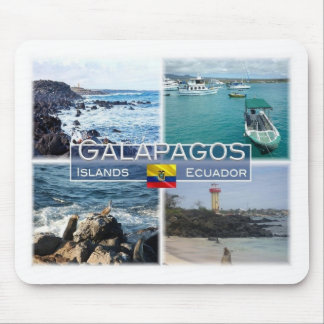 EC Ecuador - Galapagos Islands - Coast - Mouse Pad
