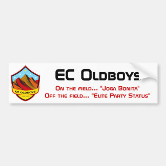 EC Oldboys Bumper Sticker