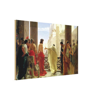 Ecce Homo [Behold the Man] Canvas Print