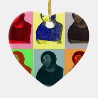 Ecce Homo - Pop Art Style Ceramic Ornament