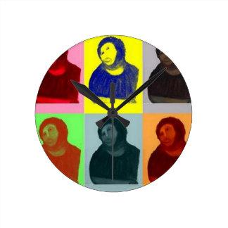 Ecce Homo - Pop Art Style Clock