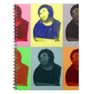 Ecce Homo - Pop Art Style Notebook