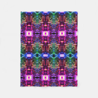 Eccentric 2 fleece blanket