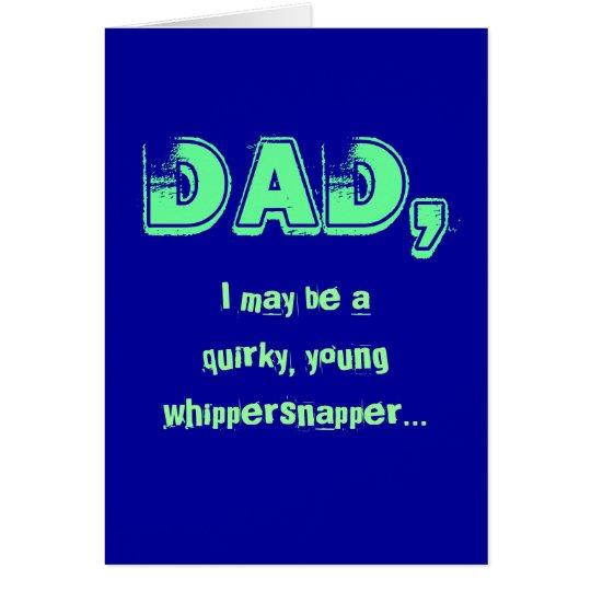 Eccentric Dad Card