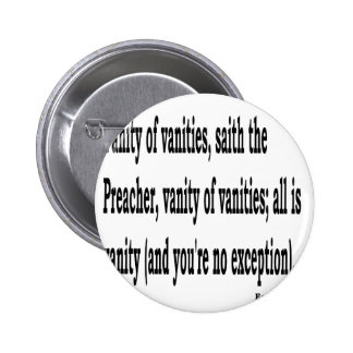 Eccles. 1:2, w2 2 inch round button