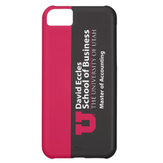 Eccles Accounting Cover For iPhone 5C