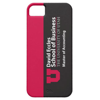 Eccles Accounting iPhone 5 Covers