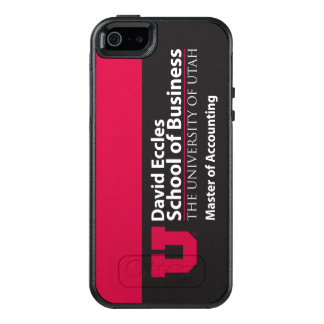 Eccles Accounting OtterBox iPhone 5/5s/SE Case
