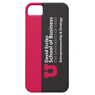 Eccles Entrepreneurship Strategy iPhone 5 Cover