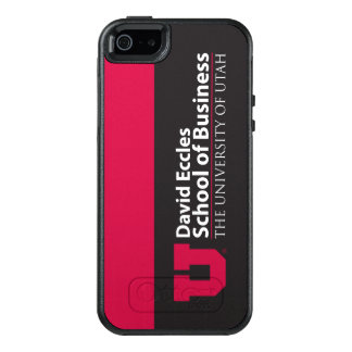 Eccles School of Business OtterBox iPhone 5/5s/SE Case
