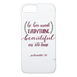 Ecclesiastes Verse iPhone 8/7 Case
