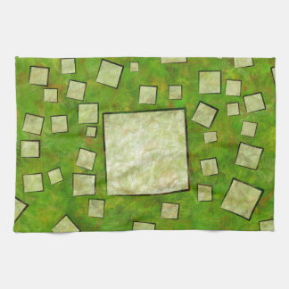 Eccletinos V1 - mosaic map Kitchen Towel
