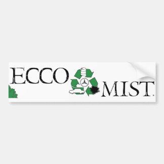 Ecco Mist Bumper Sticker
