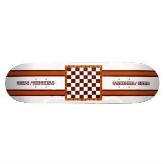 échecs/planche à roulettes de contrôleurs skateboard  20 cm