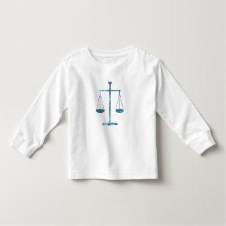 Échelles de justice t-shirt pour les tous petits