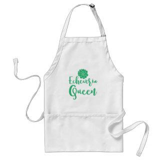 echevaria queen standard apron