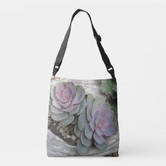 Echeveria Succulent Crossbody Bag