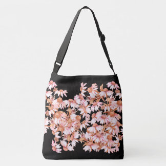 Echinacea Coneflower Flowers Shoulder Tote Bag