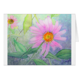 Echinacea in Bloom Card