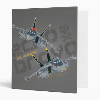 Echo and  Bravo Jolly Wrenches 3 Ring Binders