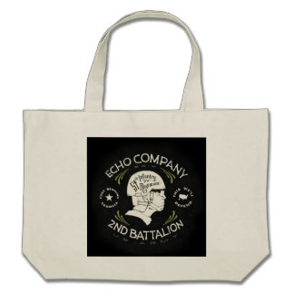 Echo Company 2nd Battalion 54th Infantry Regiment Canvas Bags