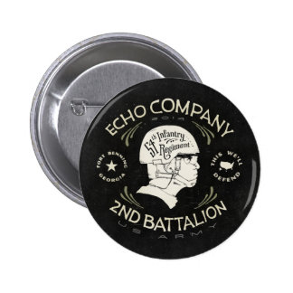 Echo Company 2nd Battalion 54th Infantry Regiment Buttons