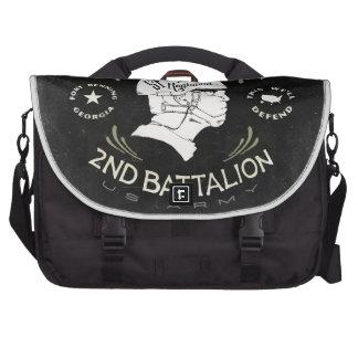 Echo Company 2nd Battalion 54th Infantry Regiment Laptop Messenger Bag