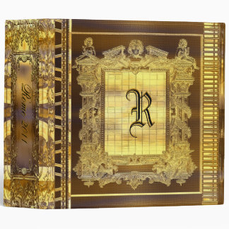 Echo Heights Victorian Vinyl Binder