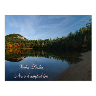 Echo Lake New Hampshire   Postcard