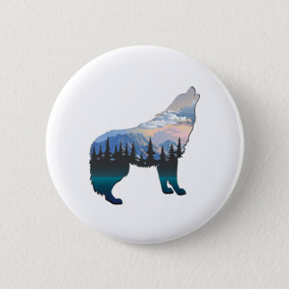 Echo of Yellowstone 2 Inch Round Button