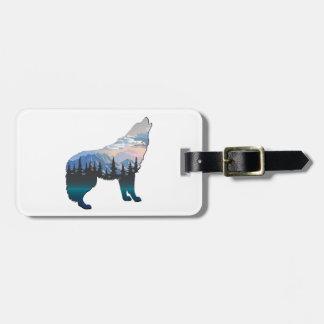 Echo of Yellowstone Luggage Tag