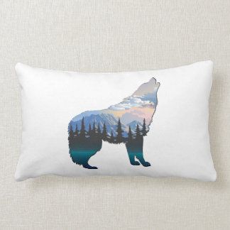 Echo of Yellowstone Lumbar Pillow